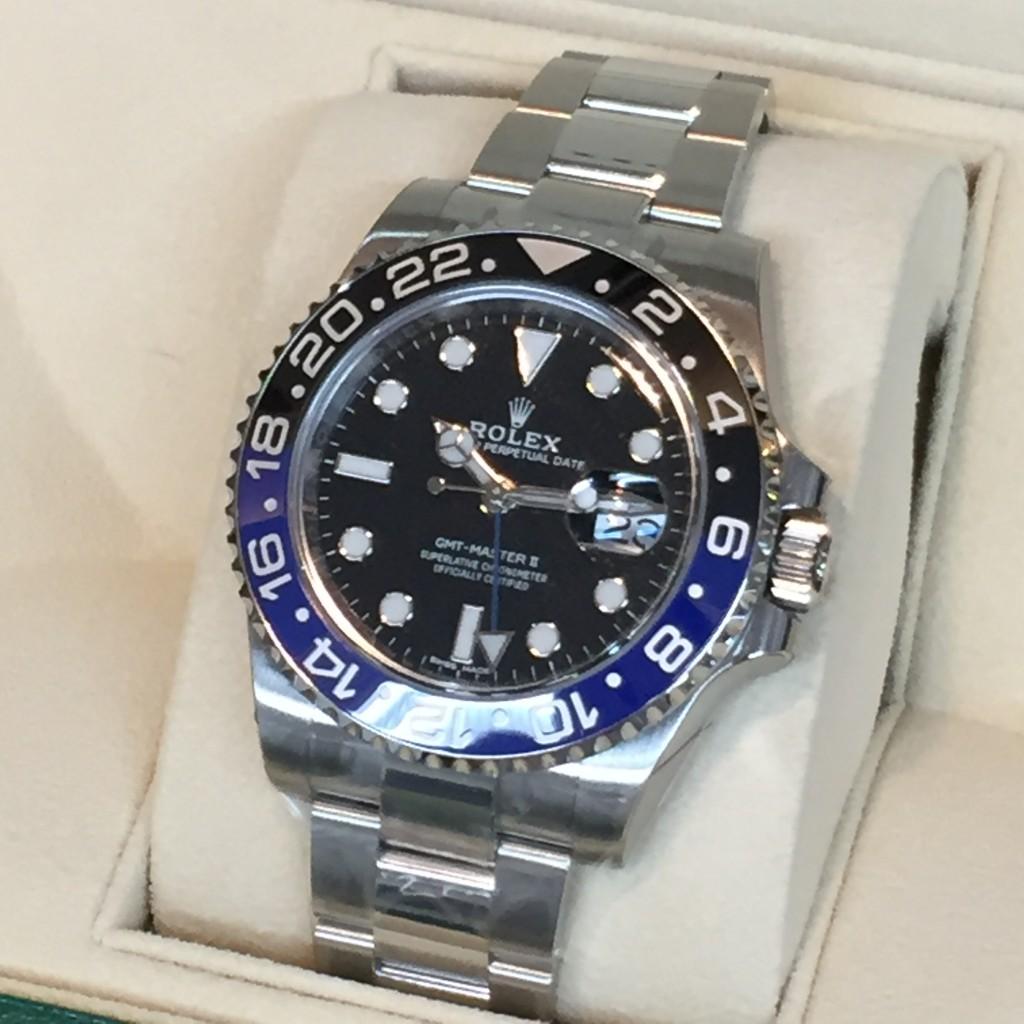 the latest 2b730 6409e 買取実績]ロレックス GMTマスターⅡ 116710BLNR | プロ鑑定士の店